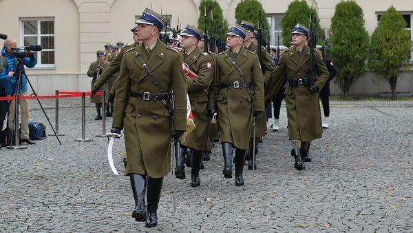 Польские военные - Sputnik Беларусь