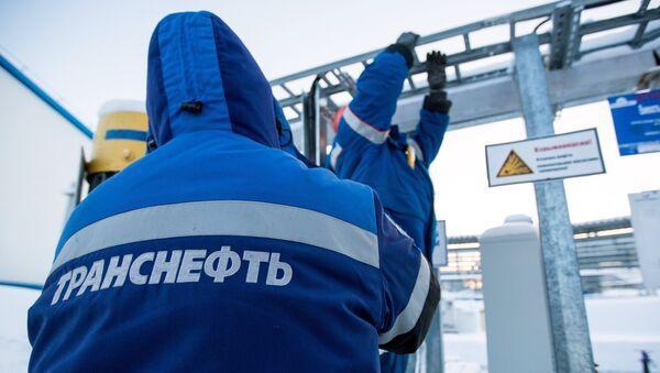 Нафтаперапамповачная станцыя - Sputnik Беларусь