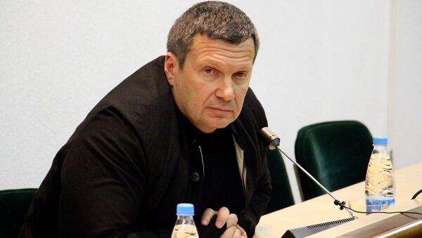 Российский телеведущий Владимир Соловьев - Sputnik Беларусь