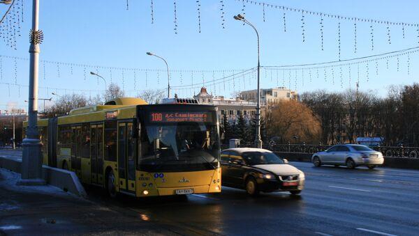 Автобус в Минске, архивное фото - Sputnik Беларусь