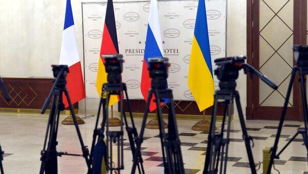 Нормандская четверка в Президент-отеле - Sputnik Беларусь