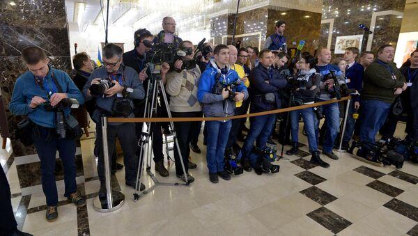 Журналисты в Президент-Отеле - Sputnik Беларусь