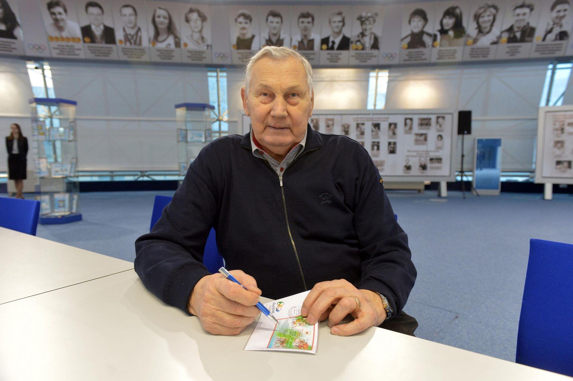 Многократный олимпийский чемпион Александр Медведь - Sputnik Беларусь, 1920, 23.07.2021