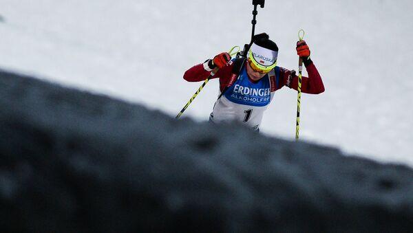 Дарья Юркевич (Беларусь) на дистанции индивидуальной гонки - Sputnik Беларусь