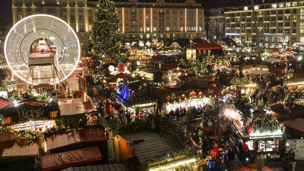 Рождественская ярмарка, архивное фото - Sputnik Беларусь