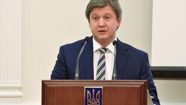Министр финансов Украины Александр Данилюк - Sputnik Беларусь