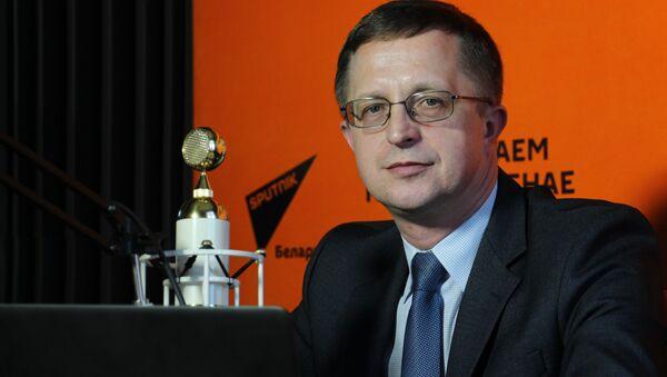 Пресс-секретарь Министерства спорта и туризма Владимир Нестерович - Sputnik Беларусь