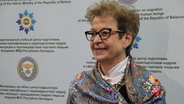 Глава представительства ЕС в республике Андреа Викторин - Sputnik Беларусь