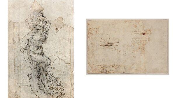 Рисунок Леонардо да Винчи Святой Себастьян - Sputnik Беларусь