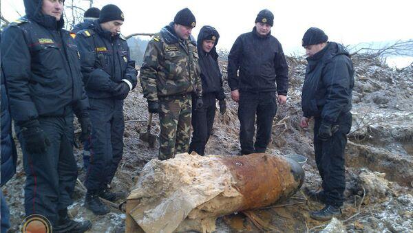 Найденная бомба - Sputnik Беларусь