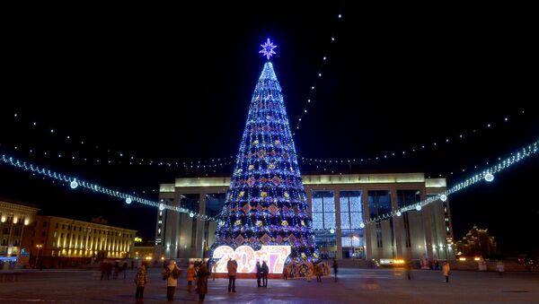 Галоўная елка краіны, архіўнае фота - Sputnik Беларусь