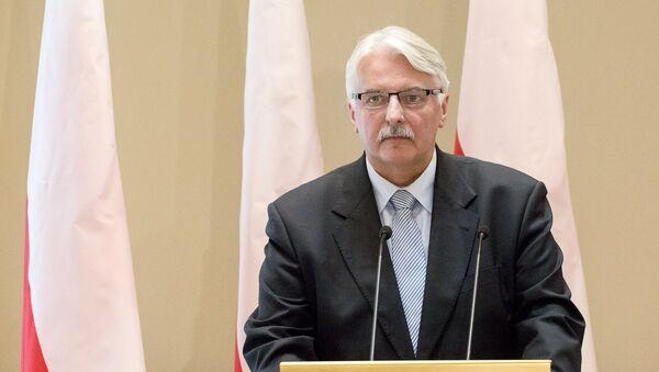 Министр иностранных дел Польши Витольд Ващиковский - Sputnik Беларусь