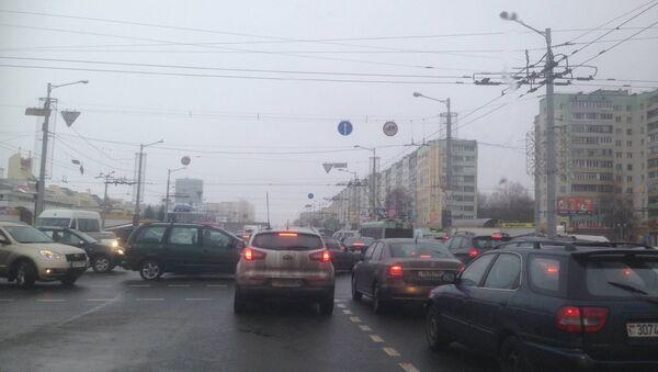 Затор у Мінску - Sputnik Беларусь
