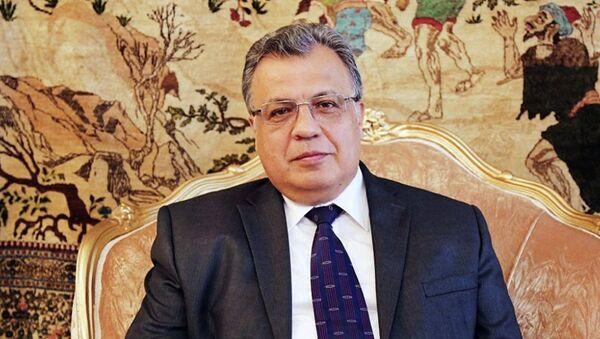 Посол России в Турции Андрей Карлов - Sputnik Беларусь