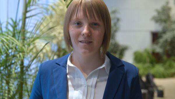 Белорусская биатлонистка Дарья Блашко - Sputnik Беларусь