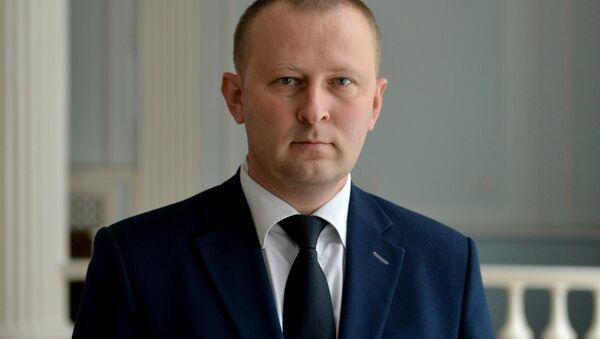 Официальный представитель Комитета государственной безопасности Дмитрий Побяржин - Sputnik Беларусь