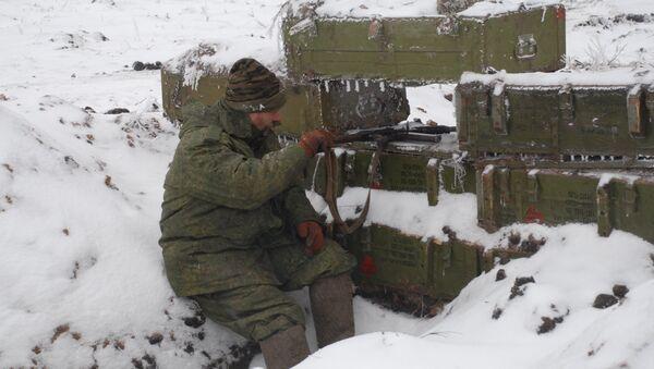 Ситуация в Донбассе, архивное фото - Sputnik Беларусь
