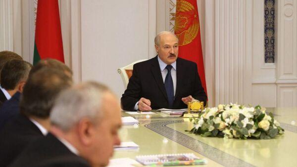 Совещание президента Беларуси Александра Лукашенко с представителями власти - Sputnik Беларусь