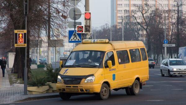 Маршрутка в Бресте - Sputnik Беларусь