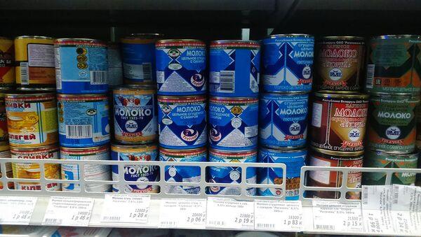 Сгущенка - белорусское сгущенное молоко - Sputnik Беларусь