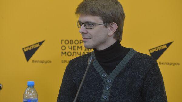 Координатор национального конкурса Минского МКФ Лiстапад Николай Лавренюк - Sputnik Беларусь