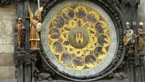 Знаки зодиака на башне в Праге - Sputnik Беларусь