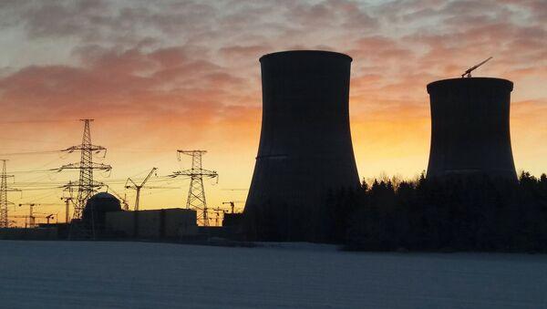 Зима на Белорусской АЭС - Sputnik Беларусь