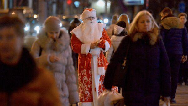 Дед Мороз в Минске - Sputnik Беларусь