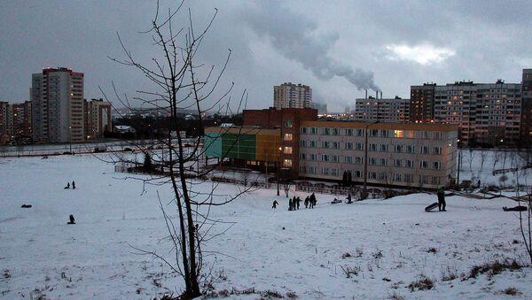 Микрорайон Сухарево, архивное фото - Sputnik Беларусь