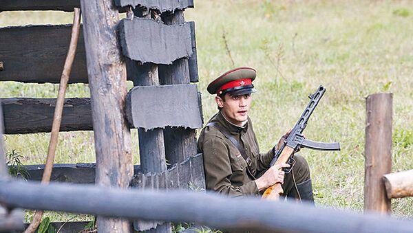 Здымаецца фільм Сляды на вадзе - Sputnik Беларусь