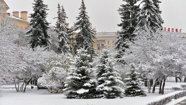 Снежная зима в Минске - Sputnik Беларусь