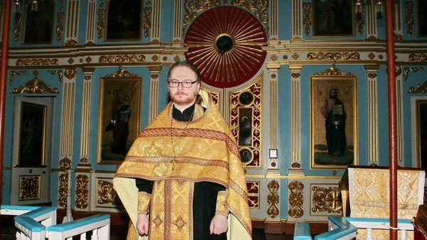 Председатель Синодального информационного отдела Белорусской Православной Церкви протоиерей Сергий Лепин - Sputnik Беларусь