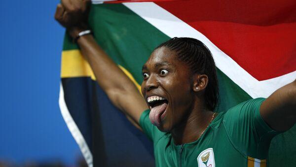 Олимпийская чемпионка 2016 года в беге на 800 метров южноафриканка Кастер Семеня - Sputnik Беларусь