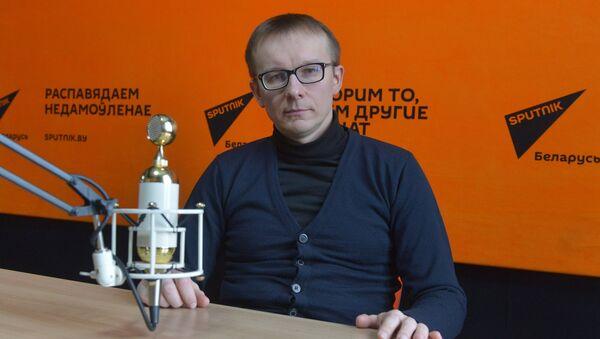 Загадчык кафедры фінансаў міжнароднага універсітэта МІПСА Вячаслаў Ярашэвіч - Sputnik Беларусь