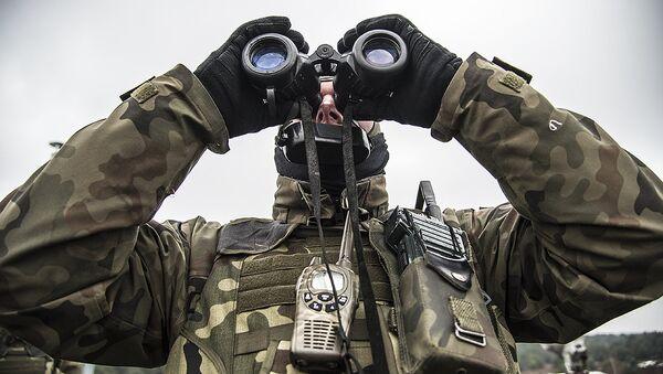 Польский военный, архивное фото - Sputnik Беларусь