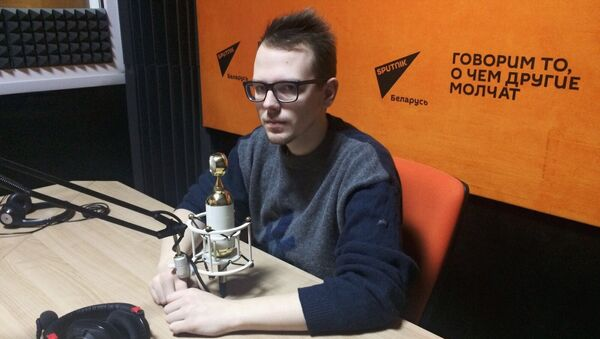 Карэспандэнт агенцтва Sputnik Беларусь Яўген Казарцаў - Sputnik Беларусь