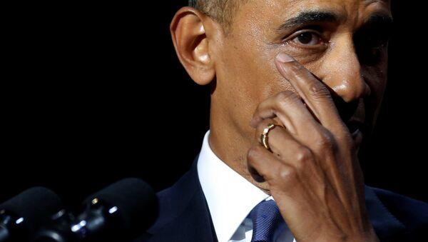 Барак Обама - прощальная речь в Чикаго - Sputnik Беларусь