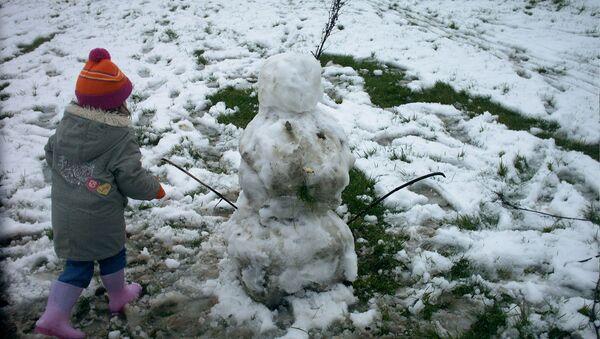 Снегавік у адлігу - Sputnik Беларусь