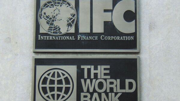 Вывеска Всемирного банка в Нью-Йорке - Sputnik Беларусь