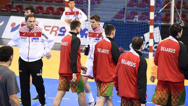 Перед матчем гандбольного ЧМ между сборными Хорватии и Беларуси - Sputnik Беларусь