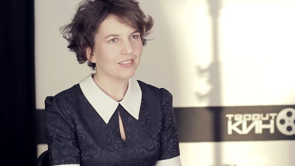 Беларускі рэжысёр Аляксандра Бутар, архіўнае фота - Sputnik Беларусь