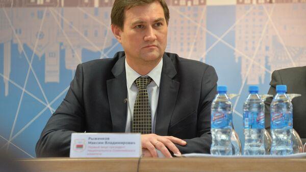 Первый заместитель главы Администрации президента Беларуси Максим Рыженков - Sputnik Беларусь