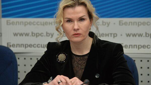Першы намеснік міністра прыродных рэсурсаў і аховы навакольнага асяроддзя Ія Малкіна - Sputnik Беларусь