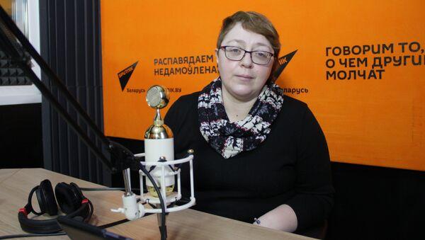 Oбозреватель агентства Sputnik Елена Ольшанская - Sputnik Беларусь