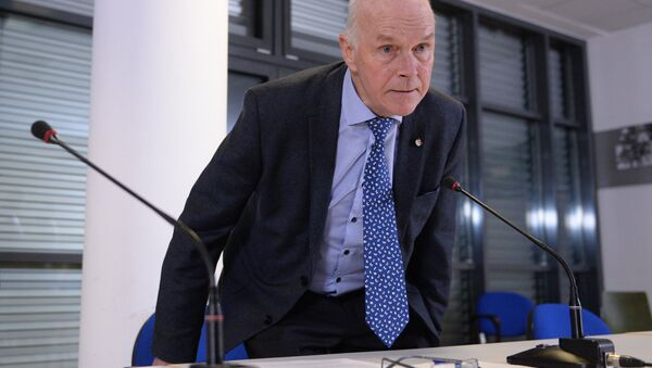 Президент Международного союза биатлонистов (IBU) Андерс Бессеберг - Sputnik Беларусь