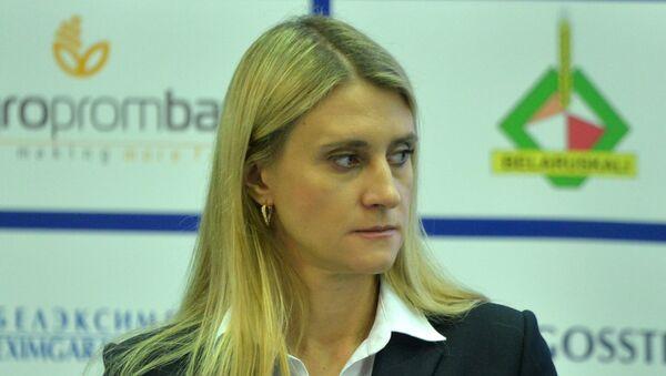 Анастасия Маринина, советник и пресс-секретарь НОК Беларуси - Sputnik Беларусь