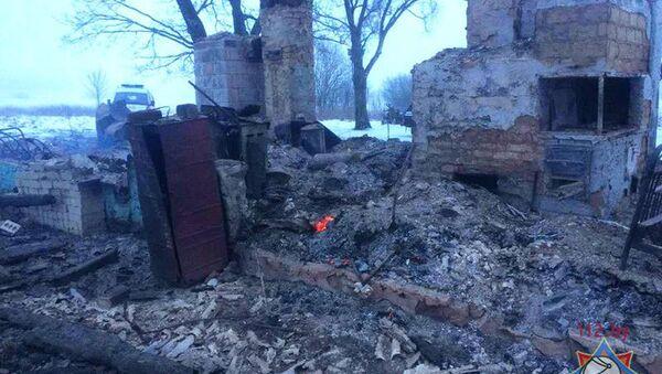 Пожар в Ошмянском районе - Sputnik Беларусь