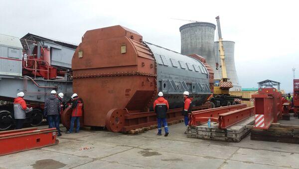 Доставка турбогенератора на БелАЭС - Sputnik Беларусь
