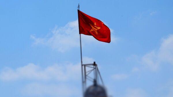 Флаг Дэмакратычнай Рэспублікі В'етнам - Sputnik Беларусь