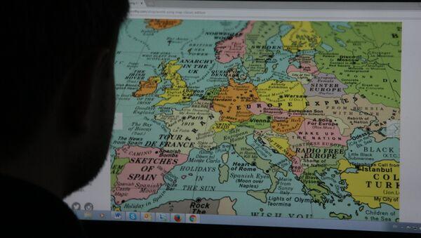 Брытанская дызайнерская студыя Dorothy склала музычную мапу World Song Map - Sputnik Беларусь